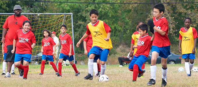 Join Camden Youth Soccer Club!